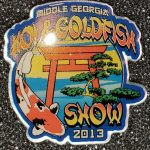 Middle Georgia 2013 Koi Show pin