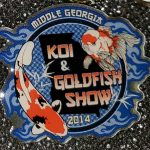 Middle Georgia 2014 Koi Show pin