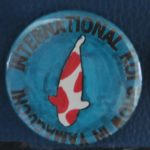 International Koi Show Yamaguchi button Kohaku