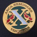 AKCA 10 years of seminar attendance