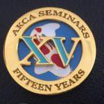 AKCA 15 years of seminar attendance
