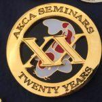 AKCA 20 years of seminar attendance