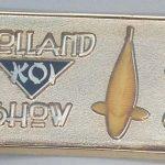2010 Volunteer pin Gold Domed