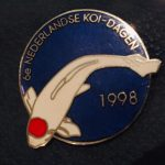 6th Holland Koi Show 1998 Silver lettering instead of gold