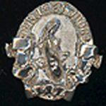 AKCA Judge Pin Silver