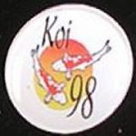 Koi 98 trophy pin