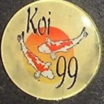 Koi 99 trophy pin