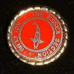 Essex trophy pin red