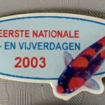 Koi2000 2003 Show pin