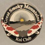 Great Smoky Mountains Koi Club pin prototype