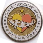 Kois Horoscope World yellow/orange