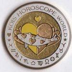 Kois Horoscope World yellow/gold