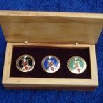 SAKKS 2004 Show - 3 pin sets (limited edition of 10 sets)