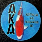 Australian Koi Association trophy pin Koromo