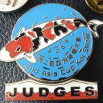 2nd All Asia Cup Koi Show China 2009 Judge pin