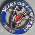 5th All Asia Cup Koi Show Taiwan 2012 Silver