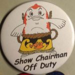 Koi Show Button Show Chairman Off Duty