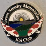 Great Smoky Mountains Koi Club pin