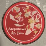 International Koi Show commercial pin Red