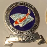2015 SAKKS Grade A Certified Judge-blue on silver