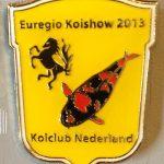 Koi Club Nederland 2013 Hi Utsuri on Yellow