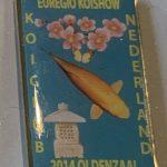 Koi Club Nederland 2014 Yellow writing