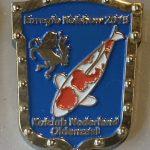 Koi Club Nederland 2015 Blue shield