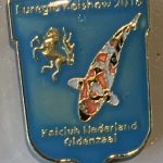 Koi Club Nederland 2016 Blue shield