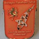 Koi Club Nederland 2016 Red shield
