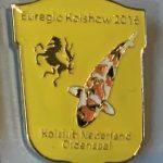 Koi Club Nederland 2016 Yellow shield