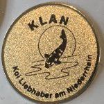 KLAN small metal Trophy pin