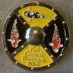 Koi Consult Denmark 2014 Yellow with Silver pin