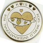 Kois World International Koi gold on white