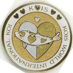 Kois World International Koi silver/gold on gold