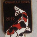 KZN 2012 Show pin - for Visitors (Black)