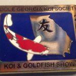 Middle Georgia 2011 Koi Show pin