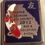 Middle Georgia 2012 Koi Show pin