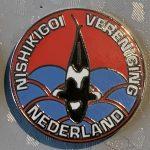 NVN Club pin New Logo Red sky