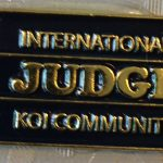International Koi Community aka judge pin
