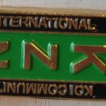 International Koi Community aka KZN pin Green/Black