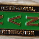 International Koi Community aka NVN pin Green/Black