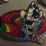 Rainbow River Koi Club pin
