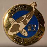 Free State Chapter Koi Show pin 2014. (Ochiba)