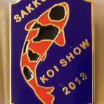 2013 Judges pin at 3 SAKKS shows Hi utsuri