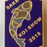 Eastern Cape Chapter Koi Show pin 2013. Ochiba Shigure