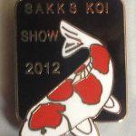 Southern Cape Chapter Koi Show pin 2012 Kohaku