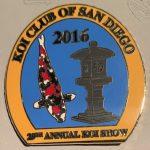 2016 - Show pin