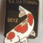 SAKKS NATIONAL Show pin 2012 - for Exhibitors (Black)