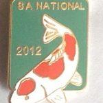 SAKKS NATIONAL Show pin 2012 - for Judges (Green)