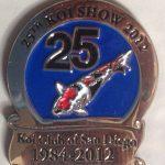 2012 - Show pin